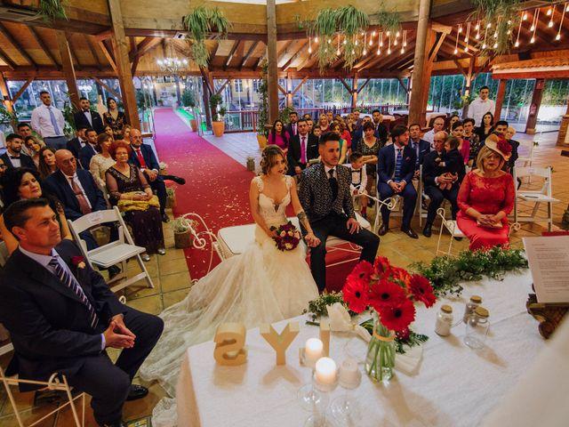 La boda de Santi y Lidia en Granada, Granada 24