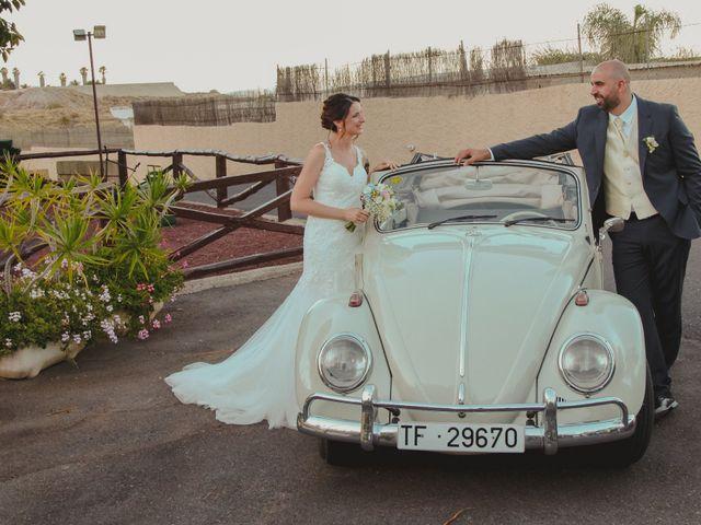 La boda de Eduardo y Damaris en Guimar, Santa Cruz de Tenerife 19
