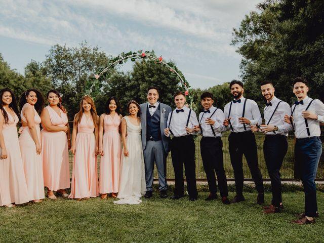 La boda de Stefany y David