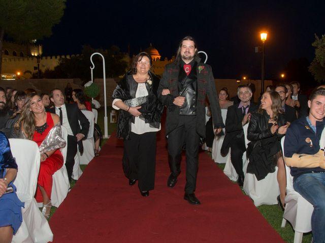 La boda de Javier y Ainhoa en Pedrola, Zaragoza 17