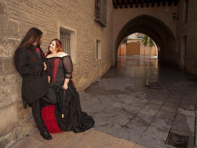 La boda de Javier y Ainhoa en Pedrola, Zaragoza 41
