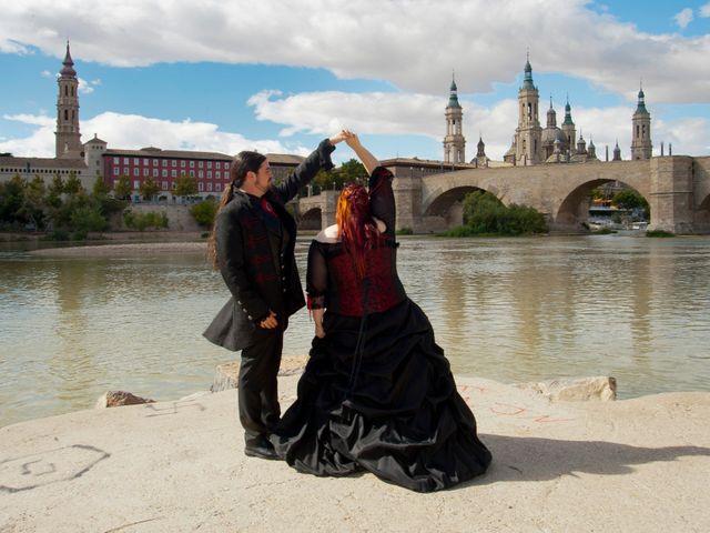 La boda de Javier y Ainhoa en Pedrola, Zaragoza 44