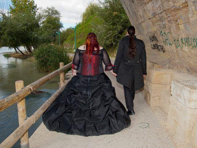 La boda de Javier y Ainhoa en Pedrola, Zaragoza 45