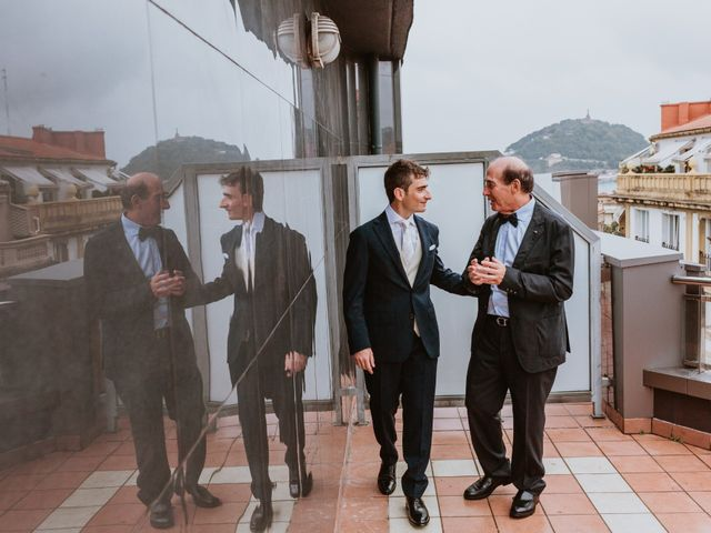 La boda de Francesco y Amaya en Donostia-San Sebastián, Guipúzcoa 14
