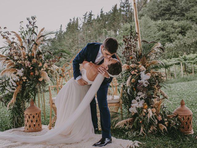 La boda de Amaya y Francesco