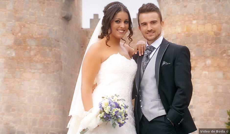 La boda de David y Laura en Ávila, Ávila