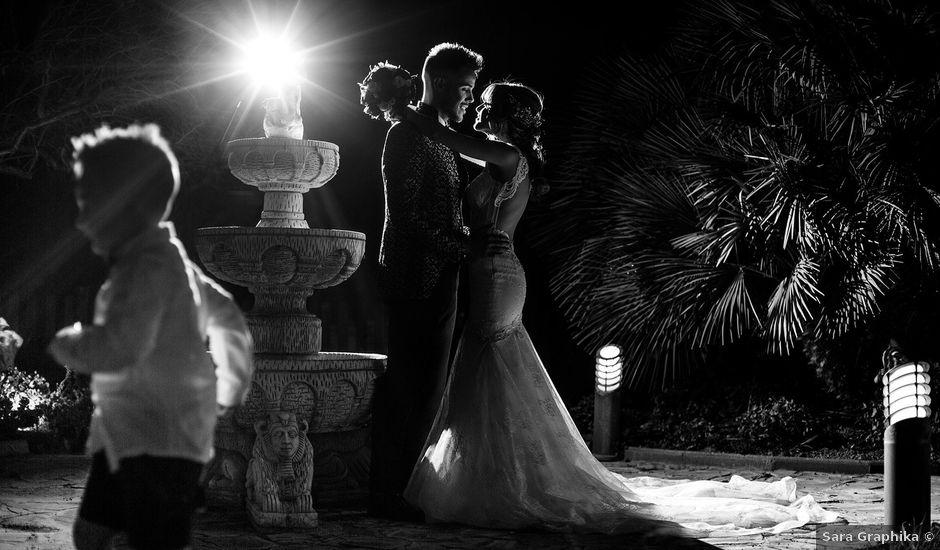 La boda de Santi y Lidia en Granada, Granada