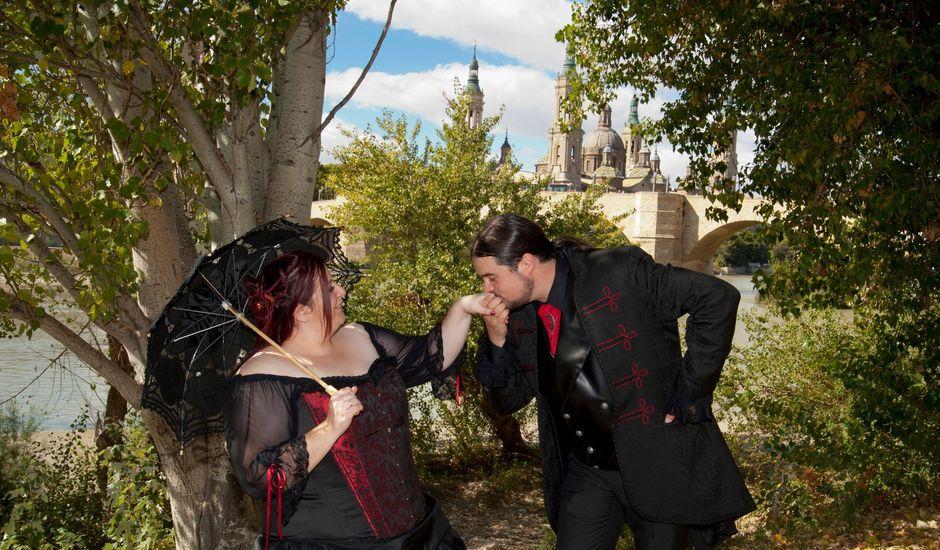 La boda de Javier y Ainhoa en Pedrola, Zaragoza