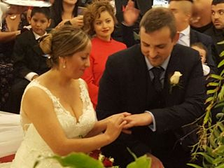 La boda de Marianela Carrera  y Benjamin Schippel