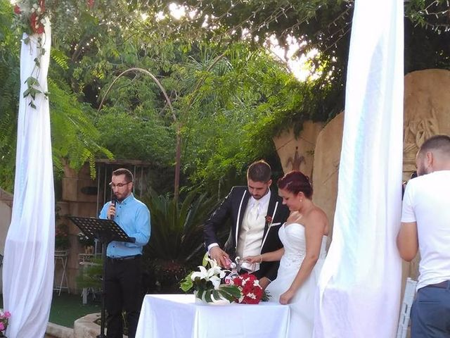 La boda de David  y Azahara en Elx/elche, Alicante 1