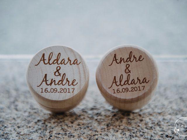 La boda de André y Aldara en Vigo, Pontevedra 9