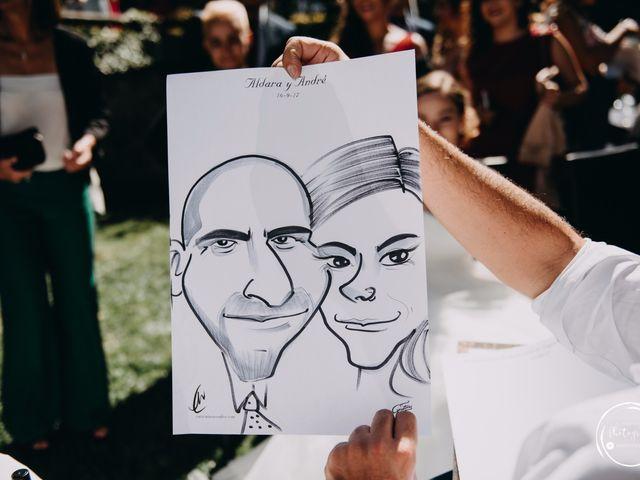 La boda de André y Aldara en Vigo, Pontevedra 69