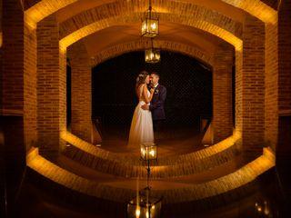 La boda de Adolfo y Violeta