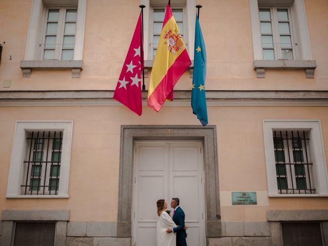 La boda de Carlos y Maria en Madrid, Madrid 50