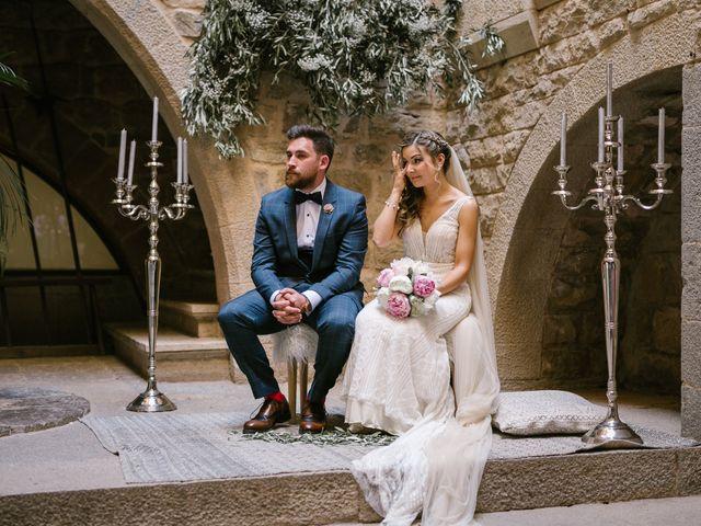 La boda de Ricard y Andrea en El Pala De Torroella, Barcelona 25