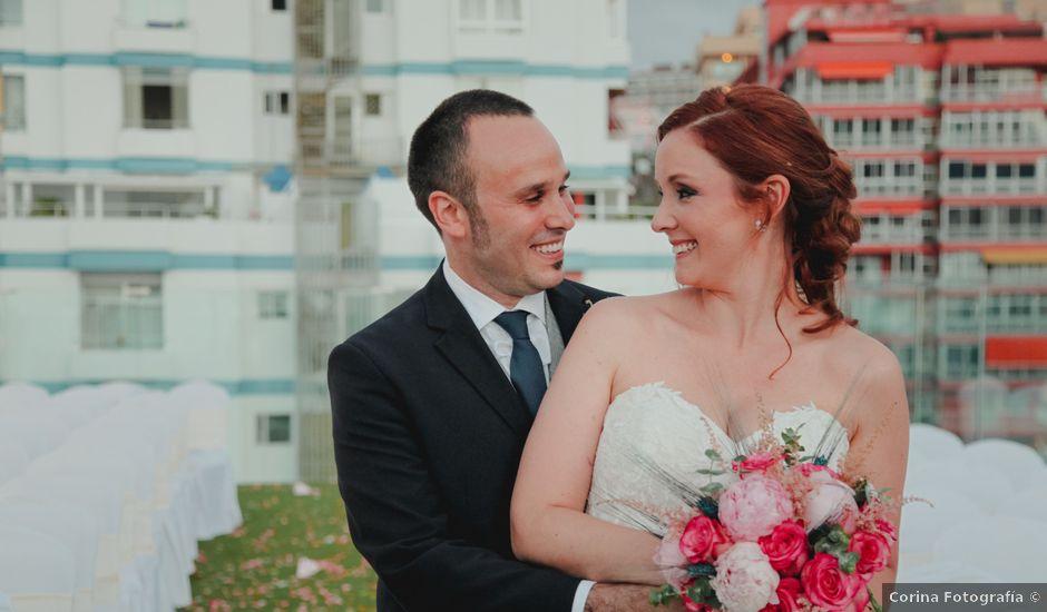La boda de Roger y Patricia en Puerto De La Cruz, Santa Cruz