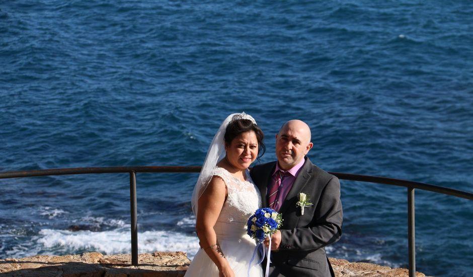 La boda de José Luis  y Doris  en Blanes, Girona