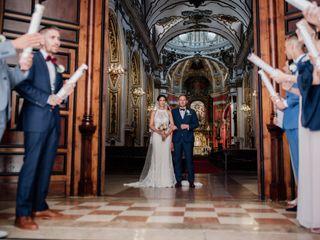 La boda de Pascaline y Michael
