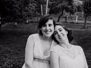 La boda de Elisa y María