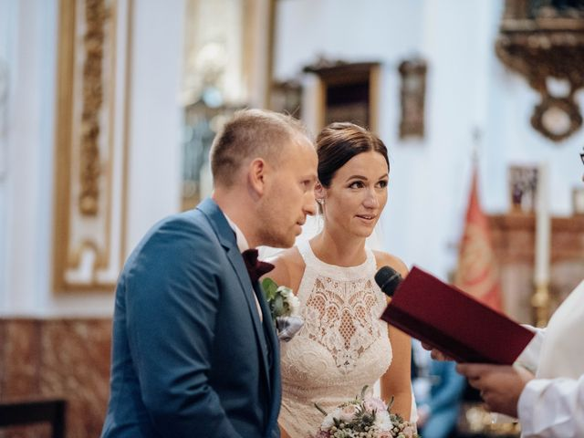 La boda de Michael y Pascaline en Cartama, Málaga 55