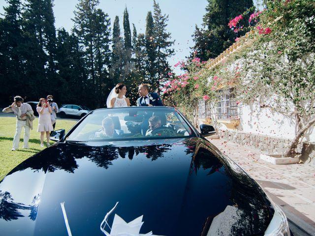 La boda de Michael y Pascaline en Cartama, Málaga 67