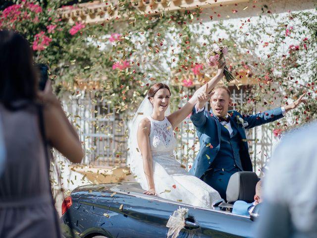 La boda de Michael y Pascaline en Cartama, Málaga 70