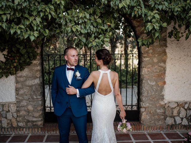 La boda de Michael y Pascaline en Cartama, Málaga 1