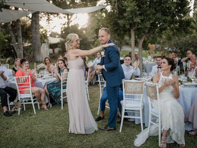 La boda de Michael y Pascaline en Cartama, Málaga 84