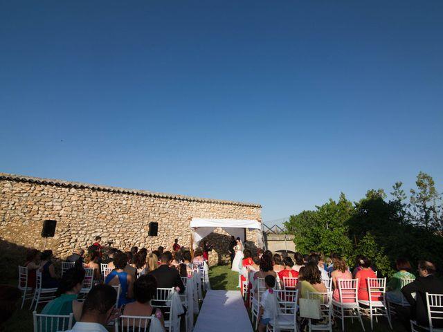La boda de Pedro y Cristina en Villarrubia De Los Ojos, Ciudad Real 28