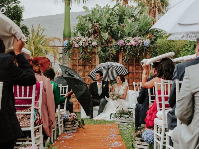 La boda de Tinguaro y Patricia en Guimar, Santa Cruz de Tenerife 2