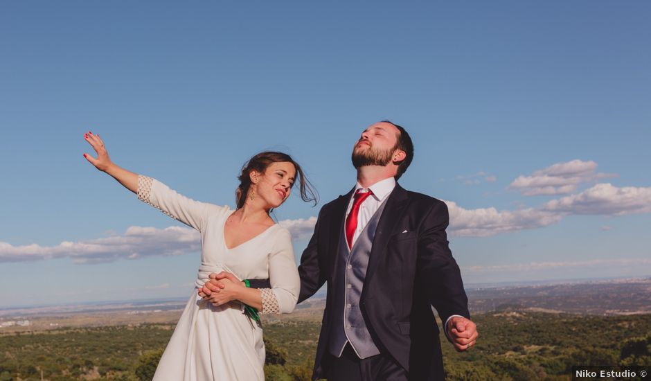 La boda de Manu y Bea en Colmenar Viejo, Madrid