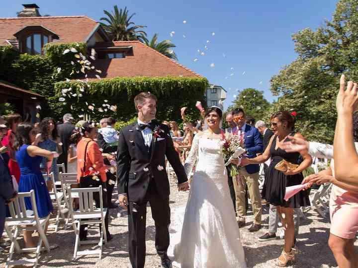 La boda de Susana y Edward