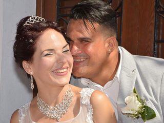 La boda de Gianni y Danaisi