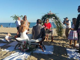 La boda de Claudio y Dorota 1