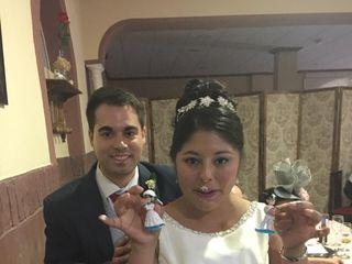 La boda de Meliza  y Rafael  1