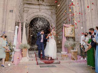 La boda de Nazareth y Daniel