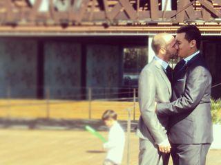 La boda de Raúl y Jorge