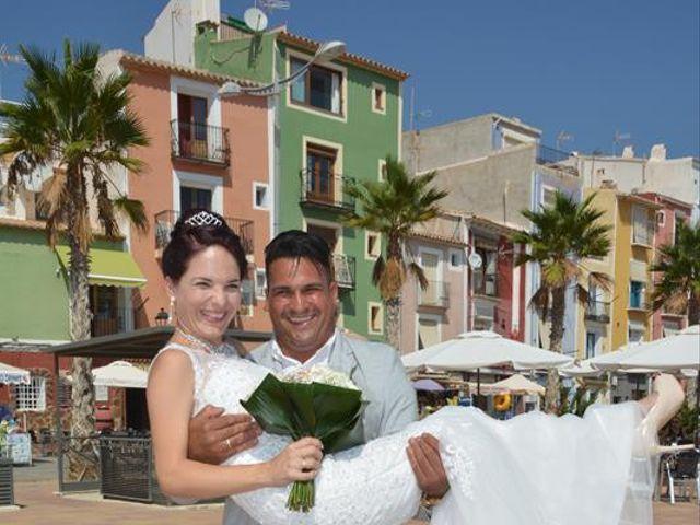 La boda de Danaisi y Gianni en La/villajoyosa Vila Joiosa, Alicante 8
