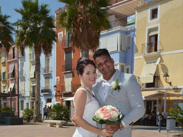 La boda de Danaisi y Gianni en La/villajoyosa Vila Joiosa, Alicante 9