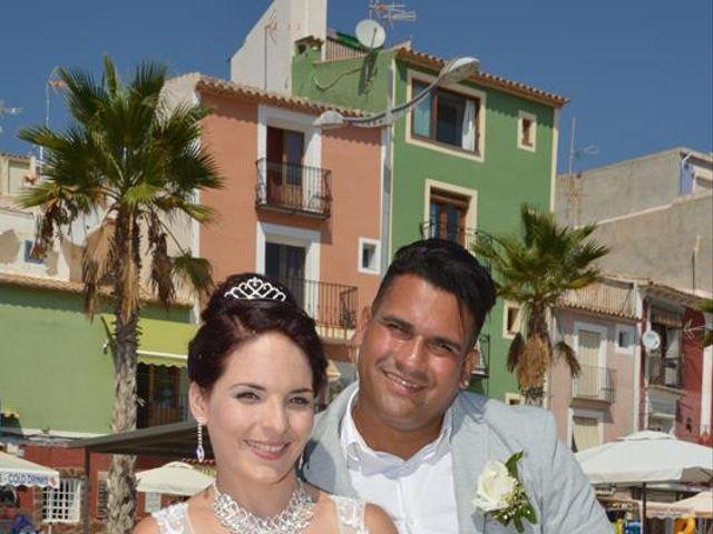 La boda de Danaisi y Gianni en La/villajoyosa Vila Joiosa, Alicante 10