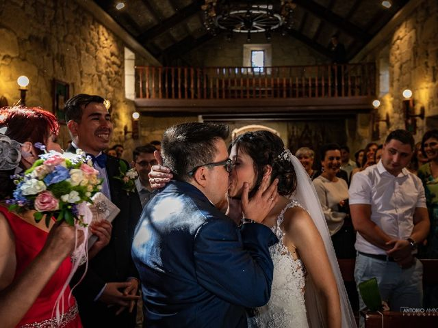 La boda de Rodrigo y Ani en Cobres (Santo Adran), Pontevedra 11
