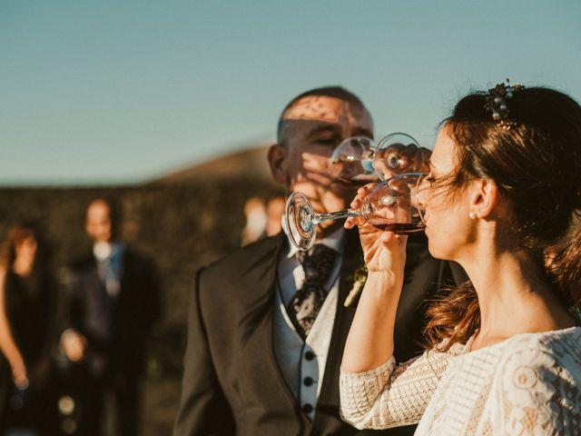 La boda de César y Elena en Los Rodeos (Isla De Lanzarote), Las Palmas 50