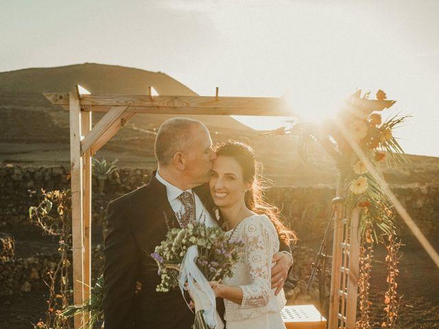 La boda de César y Elena en Los Rodeos (Isla De Lanzarote), Las Palmas 64