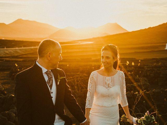 La boda de César y Elena en Los Rodeos (Isla De Lanzarote), Las Palmas 65