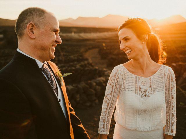 La boda de César y Elena en Los Rodeos (Isla De Lanzarote), Las Palmas 68