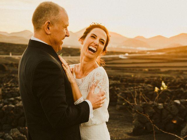 La boda de César y Elena en Los Rodeos (Isla De Lanzarote), Las Palmas 69