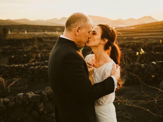 La boda de César y Elena en Los Rodeos (Isla De Lanzarote), Las Palmas 70