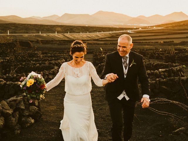 La boda de César y Elena en Los Rodeos (Isla De Lanzarote), Las Palmas 72