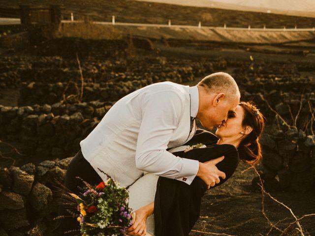 La boda de César y Elena en Los Rodeos (Isla De Lanzarote), Las Palmas 73