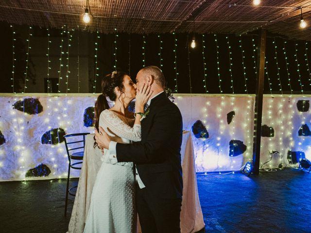 La boda de César y Elena en Los Rodeos (Isla De Lanzarote), Las Palmas 76